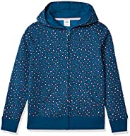 Amazon Essentials Big Girls' Fleece Zip-up Ho