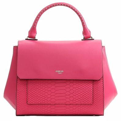 GUESS Women s Evette Python-Embossed Satchel  Handbags  Amazon.com dcc0532c2cb67