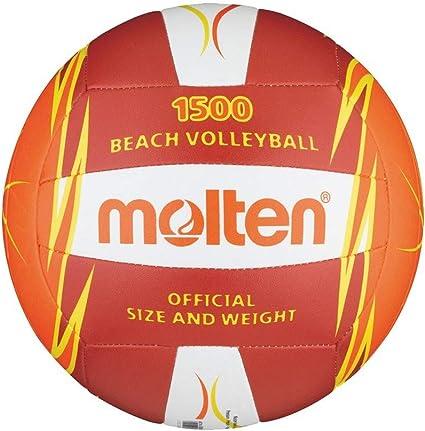 MOLTEN V5B1500 - Balón de Voleibol, Color Rojo, tamaño 5, Rojo ...
