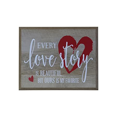 Every Love Story Is Beautiful Wedding Anniversary Gift For Husband