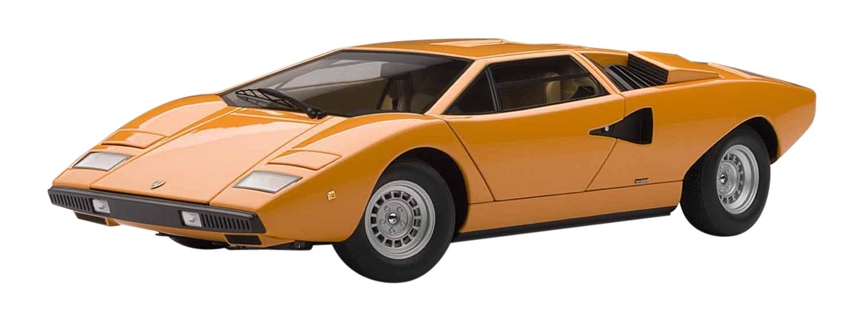 AUTOart 1/18 Lamborghini Countach LP400 (Orange) (japan import)