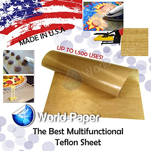 New 16' X 16' Sheet for Heat Press Machines Non-stick Quantity 1 By Gecko