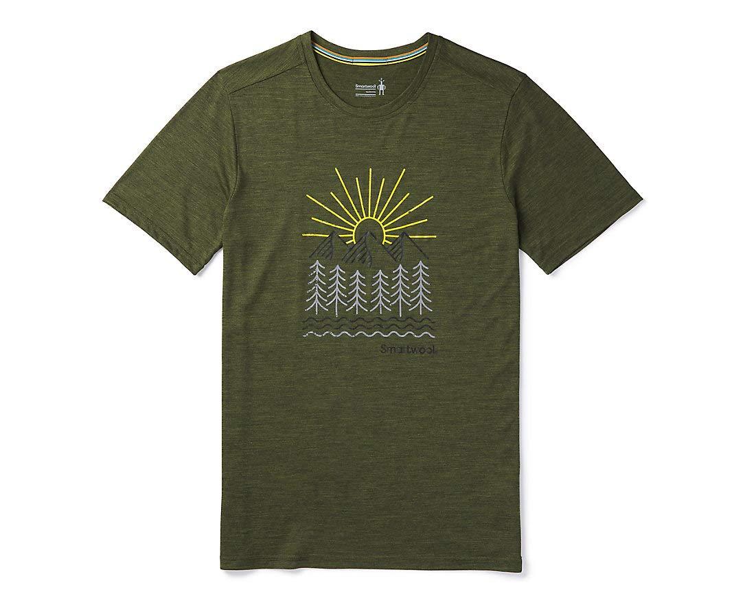 Smartwool Herren Merino Sport 150 Mountain Morning Tee T-Shirt
