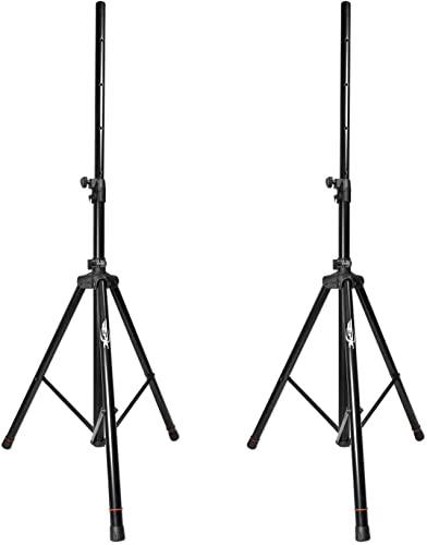 Epic Pair EPS200 Heavy Duty Adjustable 6 Foot Tripod DJ PA Pro Speaker Stands