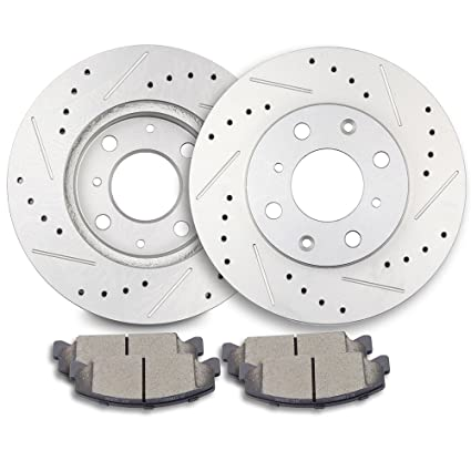 Brakes And Rotors >> Eccpp Brakes And Rotors 2pcs Front Discs Brake Rotors And 4pcs Ceramic Disc Brake Pads Set For 1990 2000 Honda Civic 1993 1997 Honda Civic Del Sol