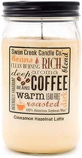 product image for Swan Creek 100% American Soybean 24 Oz. Jar Candle - Cinnamon Hazelnut Latte