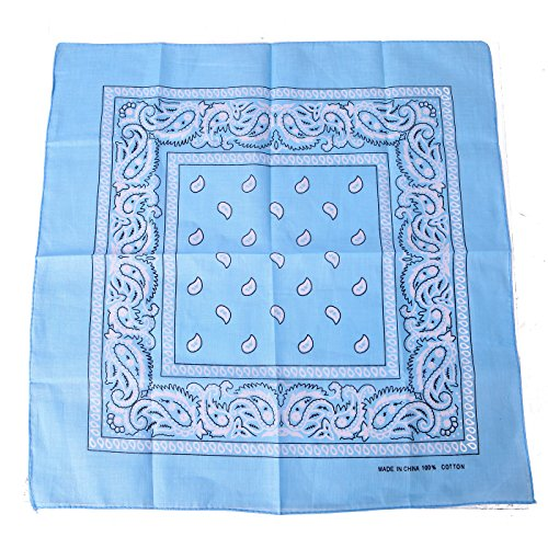 Light Blue Bandana - 7