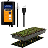 "MET Certified Seedling Heat Mat, with 42℉~108℉ Digital Thermostat Controller for Seed Germination (10"" x 20"")"
