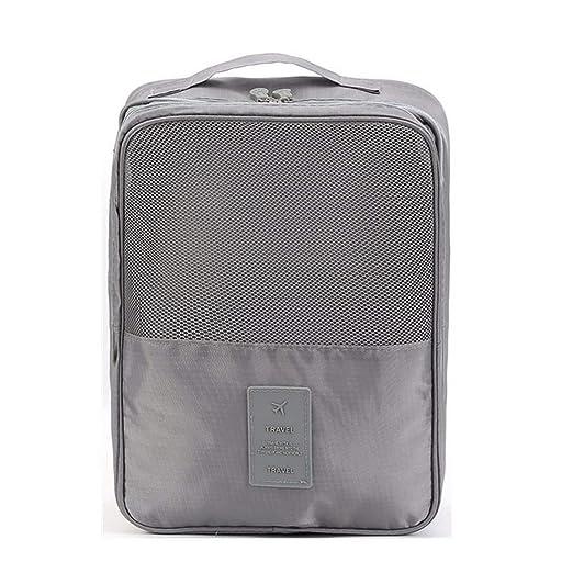 31418f344dab Amazon.com: Shoe Storage Bag Zipper Waterproof Portable Travel Shoe ...