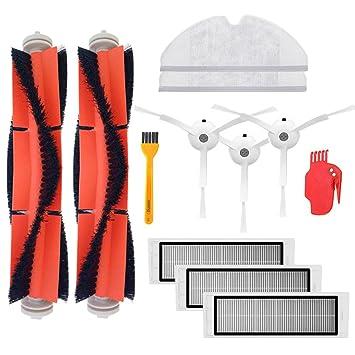 Accesorios Piezas de aspiradora cepillo lateral filtro cepillo principal paño de limpieza herramienta de limpieza para