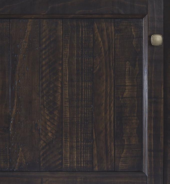 Grayish Brown Townser Bridge Entertainment Ashley Furniture Signature Design Traditional Bridge Component ONLY