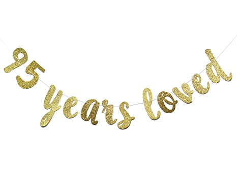 Amazon 95 Years Loved Banner