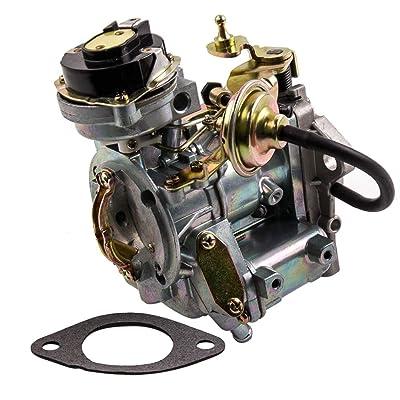 1-Barrel Carburetor for Ford 4.9L 300 Cu/4.1L 250 Cu/3.3L 200 Cu Engine,for Ford Broncos/Fairmont/Granada F100 F150 F250&F350,for Ford Econoline E Series 1967-1985 Automatic Choke: Automotive