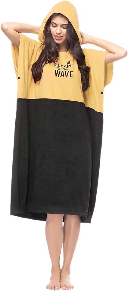 2x Over-Sized Changing Robe Jacket Long Windbreaker Windproof Anorak Poncho Hood