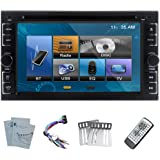 EinCar 2 Din TFT 6.2-Inch LCD Touch Screen In-dash DVD Player