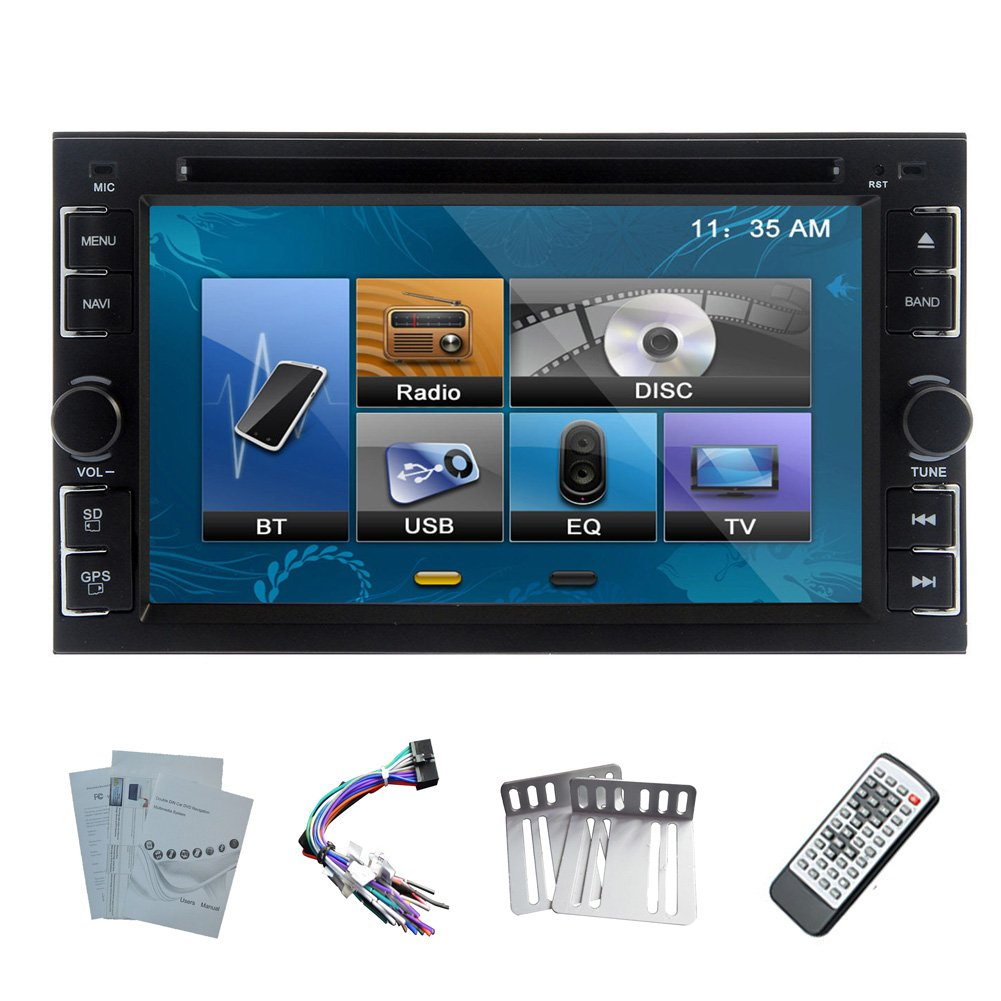 Amazon.com: EinCar 2 Din TFT 6.2-Inch LCD Touch Screen In-dash DVD Player:  Cell Phones & Accessories