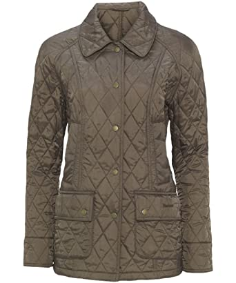 11e102d907b Women s Barbour Summer Beadnell Quilted Jacket - Mocha  Amazon.co.uk ...