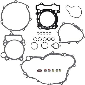 KIMISS 1 Set Motorcycle Complete Gasket Kit for Yamaha YZ250F 01-13