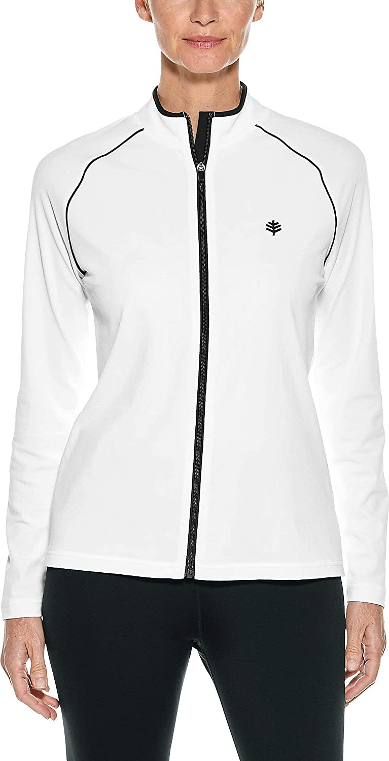Sun Protective Womens Long Sleeve Water Jacket Coolibar UPF 50