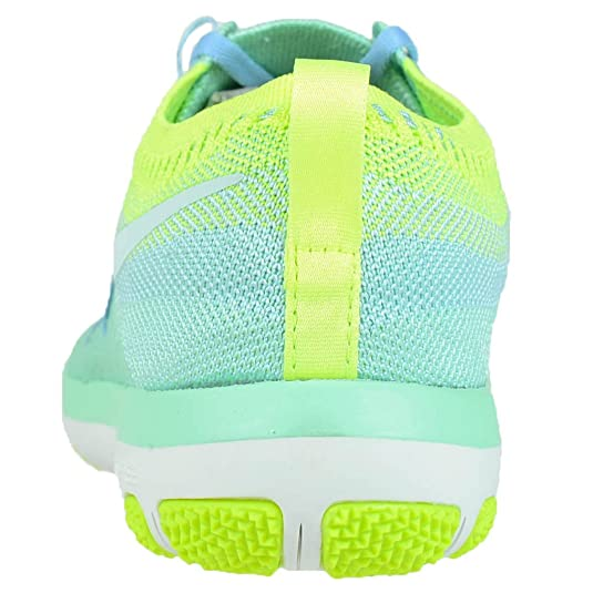 825536d1895c ... buying new 35399 81ab8 Amazon.com NIKE Women Free TR Focus Flyknit -  Green GlowGlacier ...
