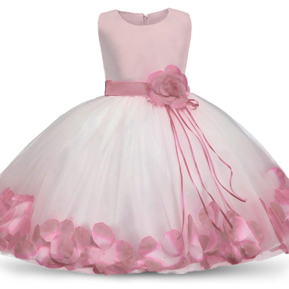 Mode Enfants Filles Bowknot Princesse Robe Kid Party Pageant De Mariage Demoiselle D'honneur Tutu Robes D'été Robe,G-130