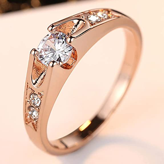 Gemmart Unique Multi-layer Engagement RingPave womens engagement rings fashion jewelry rings for women