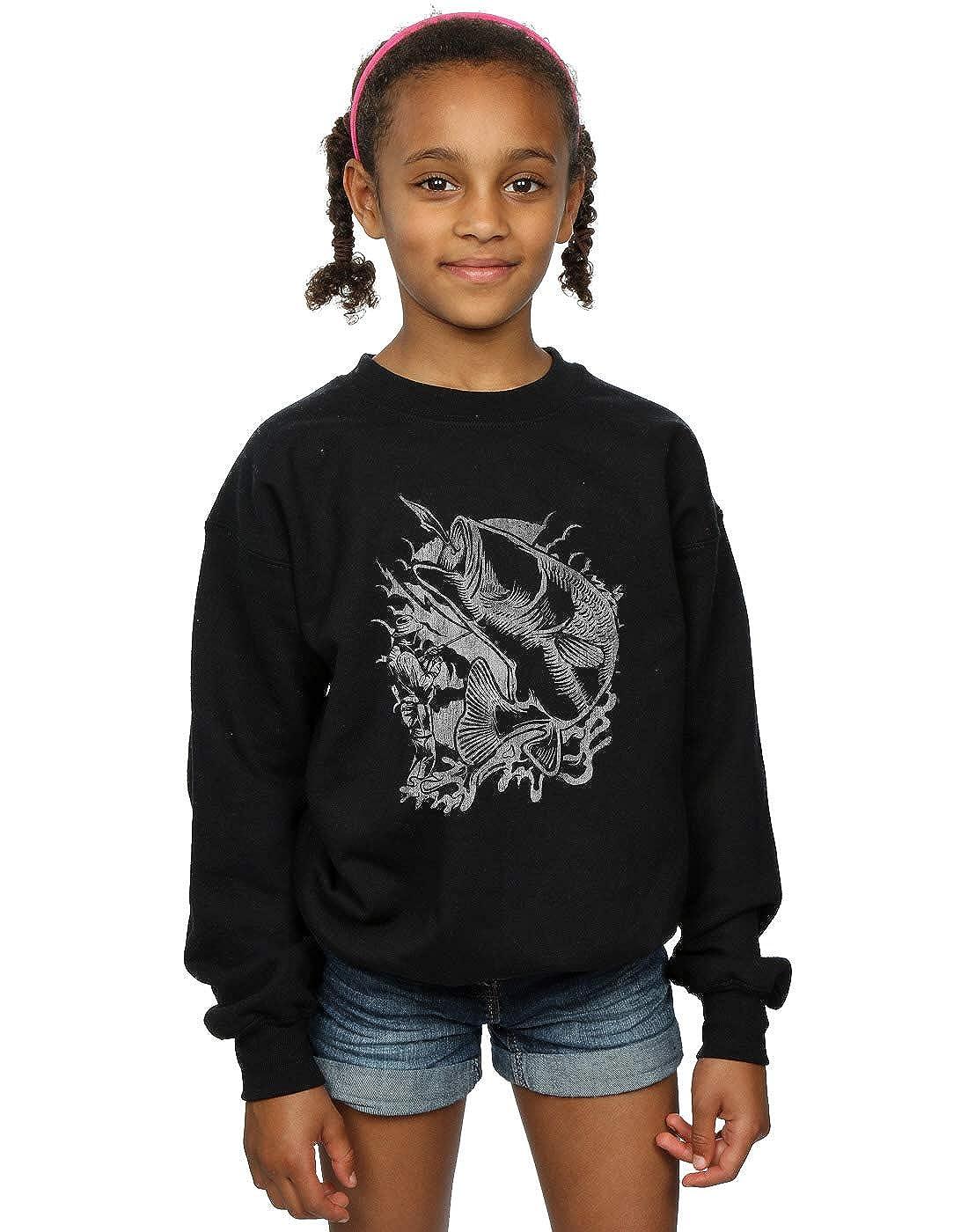 Absolute Cult Drewbacca Girls Fishermans Catch Sweatshirt