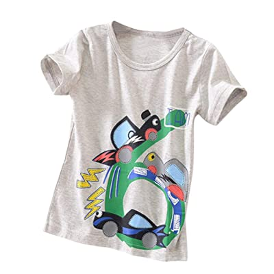 8d34a6e09 Moonker Baby Tees for 2-6 Years Old, Kids Toddler Baby Boys Girls Candy