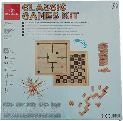 dal-Nero 53978 - Juego de Mesa, Multicolor: Amazon.es: Juguetes y juegos