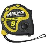 Wolfpack 2302020 Flexómetro con freno 8 m