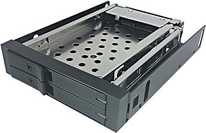 glotrends Bahia de Disco Duro Interno H252F Cajas Rack móvil con ...