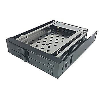 Bahia de disco duro interno - GLOTRENDS H252F Cajas Rack móvil con cable sata para 2