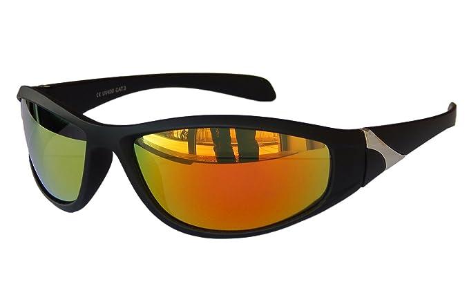 Matrix Sportbrille Sonnenbrille silber verspiegelt Fahrradbrille Snowboardbrille Motorradbrille (silber verspiegelt) 5jbffd5mo4