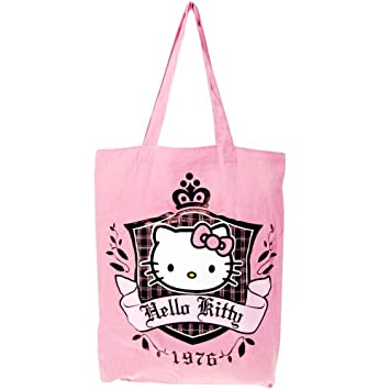 6614bea8b8ef Hello Kitty Pink Tote Bag  Amazon.co.uk  Toys   Games