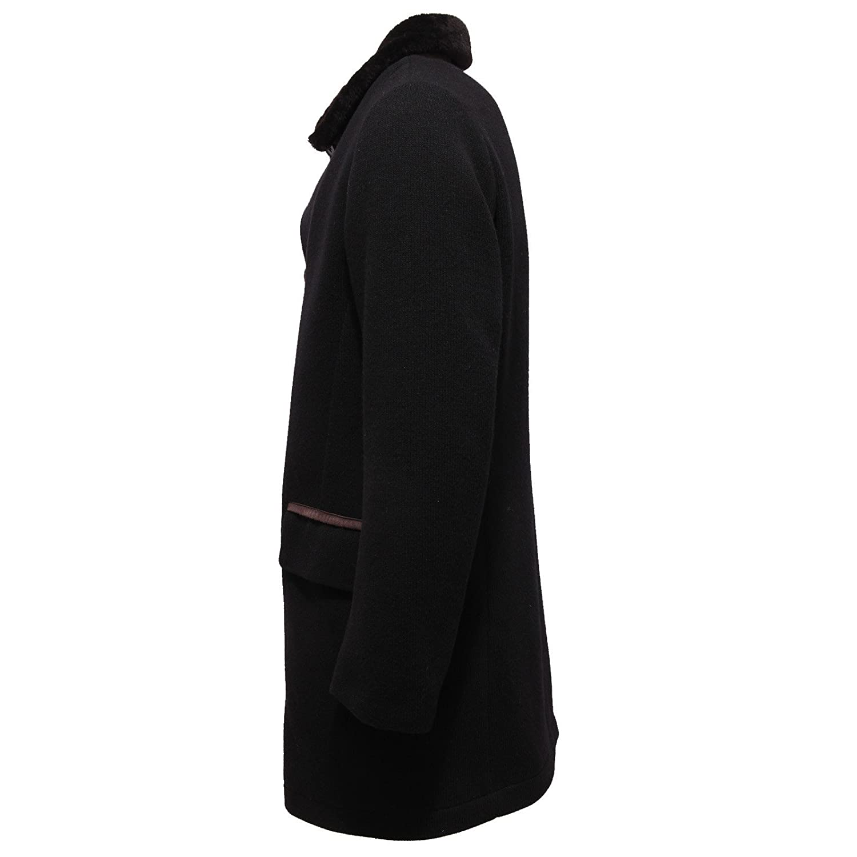 cappotto uomo GMS 75 lana wool black jacket coat men