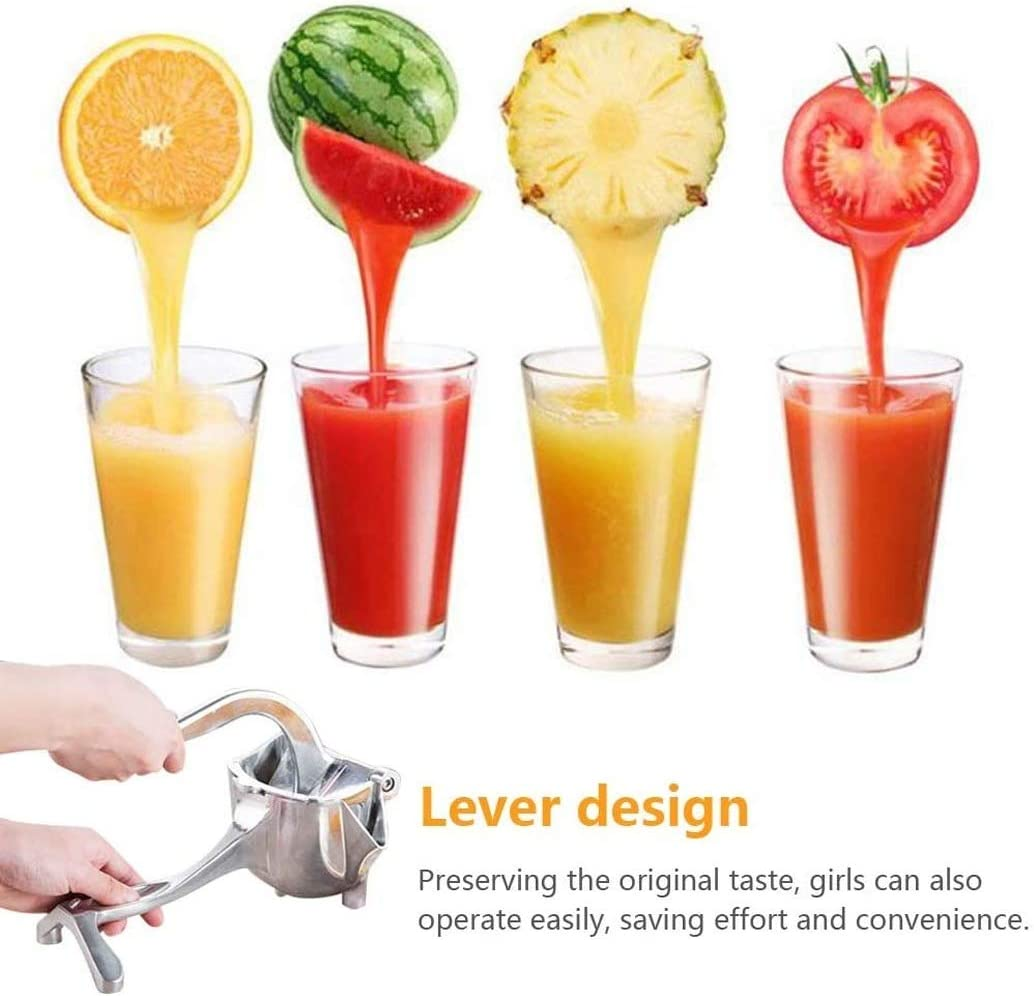1 Manual Juicer Alloy Fruit Hand Squeezer Heavy Duty Lemon Orange Juicer Manual Fruit Press Squeezer Fruit Juicer Extractor Tool