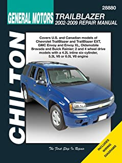 general motors trailblazer 2002 2009 chilton s total car care rh amazon com 2004 Buick Rainier Problems 2004 2007 Buick Rainier