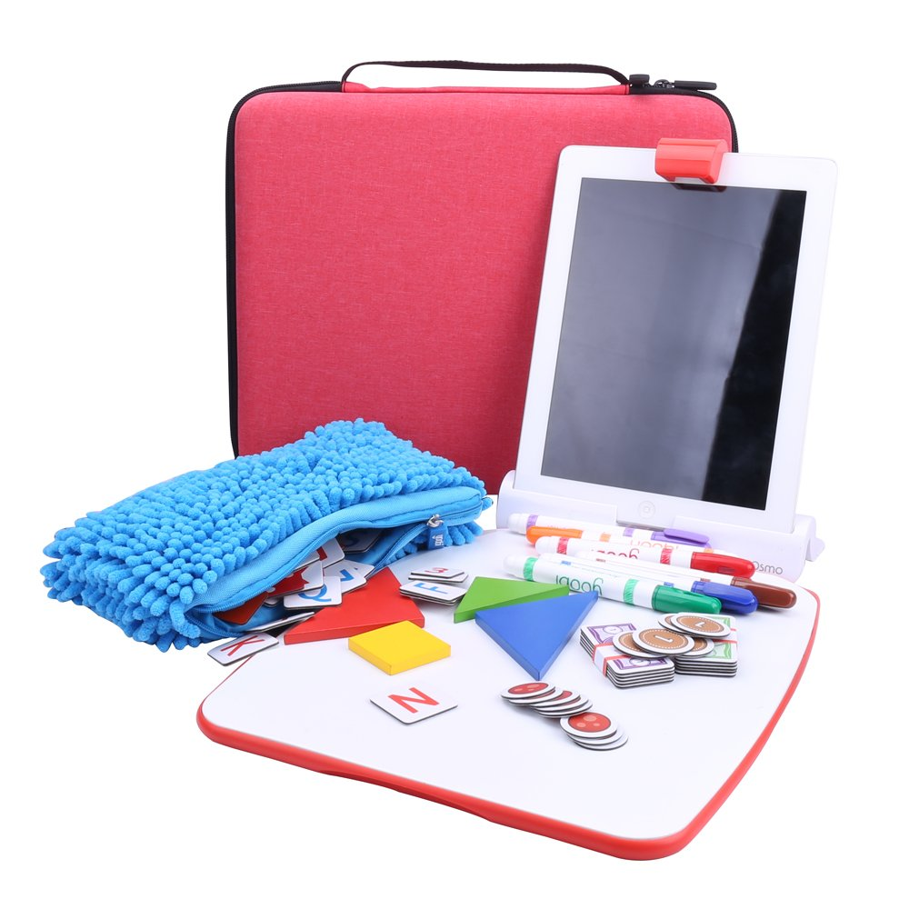 Aenllosi All in One Carrying Case for Osmo Creative Set, fits Other Game kit (red) by Aenllosi (Image #5)
