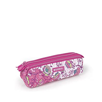 Estuche 3 Compartimentos Gabol Magic Rosa: Amazon.es: Equipaje