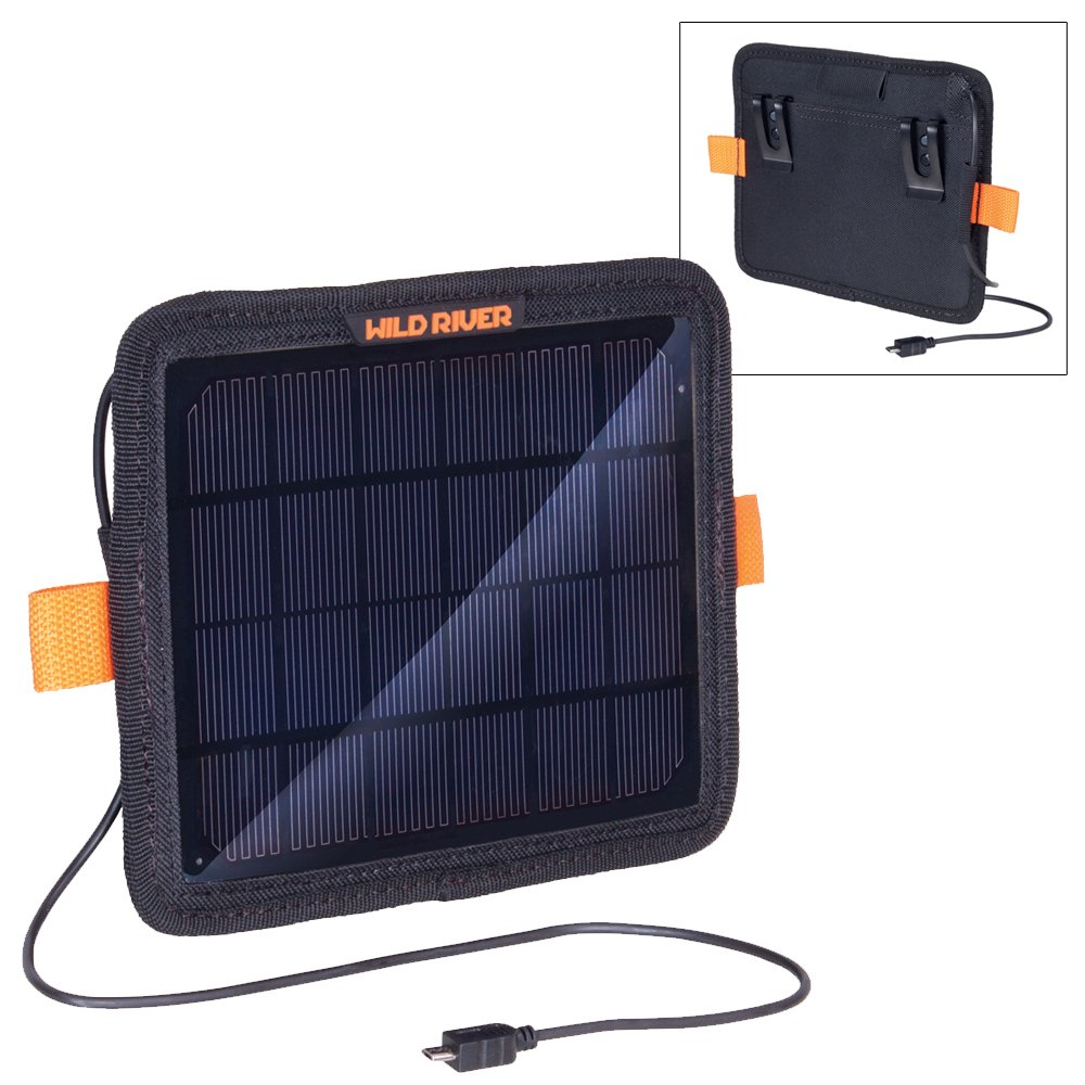The Amazing Quality Wild River Tackle Tek™ Solar Panel Charger by Generic