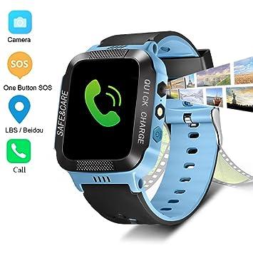 Amazon.com: Bigmai - Reloj inteligente para niños LBS/Beidou ...