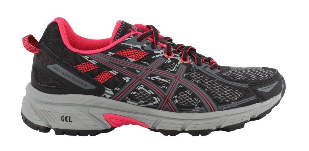 ASICS Women's Gel-Venture 6 Running-Shoes B077MQ6JL8 11.5 M US|Black Pixel Pink
