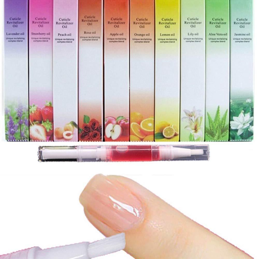 5 Pcs New Cuticle Revitalizer Olio Nail Art Treatment Manicure Ammorbidire Pen Tool Nail cuticola Olio penna Vonrui