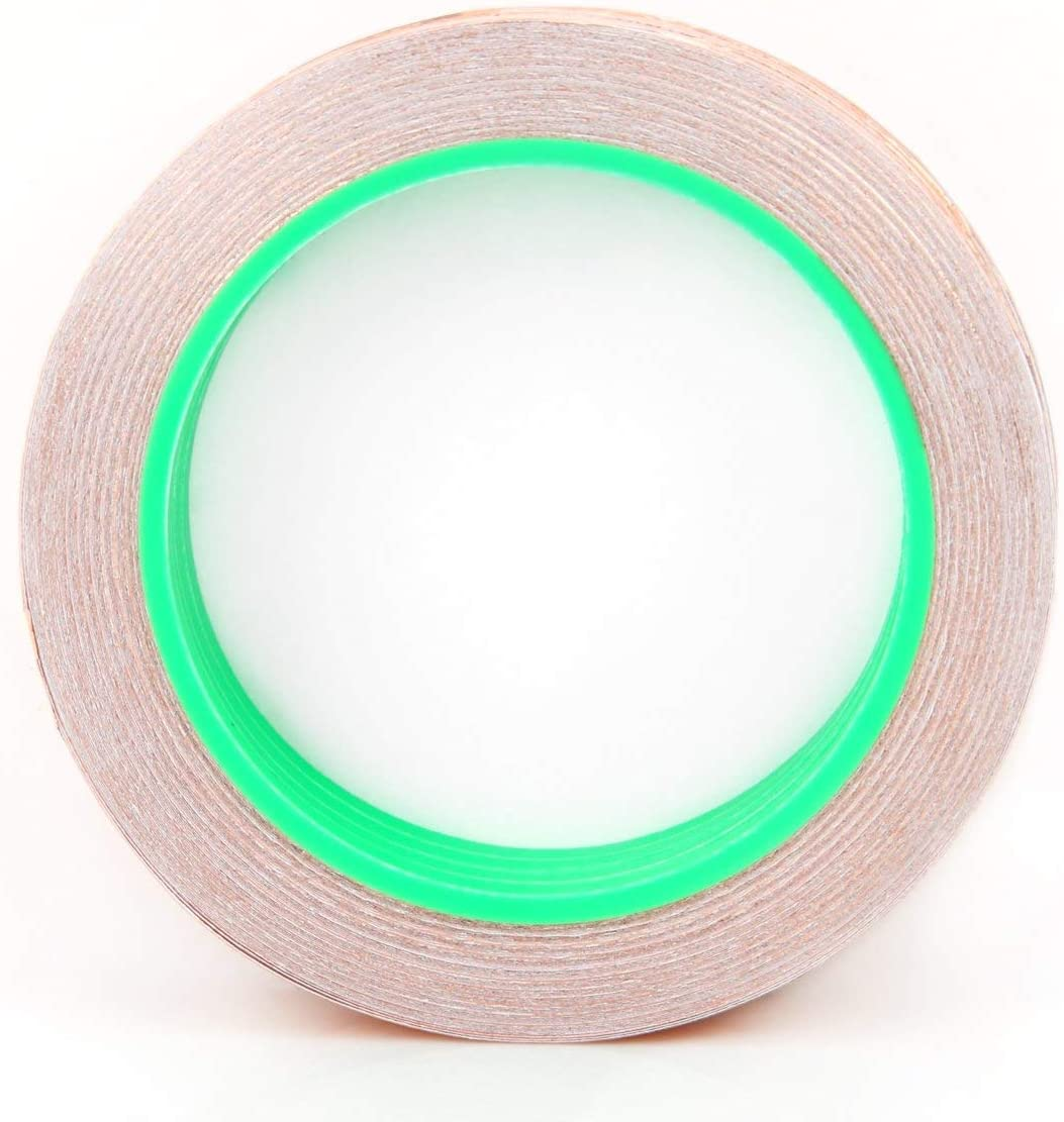 Electrical Repairs 4 x 25 Meters Paper Circuits 3mm Conductive Copper Foil Tape Soldering AMX3d Lilypad Low Voltage Circuit Wiring Solutions Double Sided Conductor Tape for Lilypad Arduino