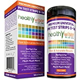 pH Test Strips 0-14, Universal Strips To Test Water Quality For Swimming Pools, Hot Tub, Hydroponics, Aquarium, Kombucha, Household Drinking Water, Soil, Urine & Saliva, Alkaline & Diabetic Diet 100ct