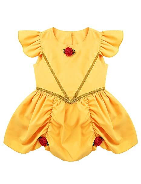 MSemis Disfraz Bella Durmiente para Bebés Niñas Vestido ...