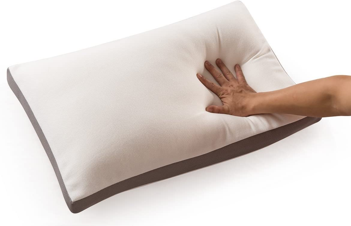 """NOFFA Memory Foam Pillow with Washable Pillow Case 19/"""" x 33/"""""""