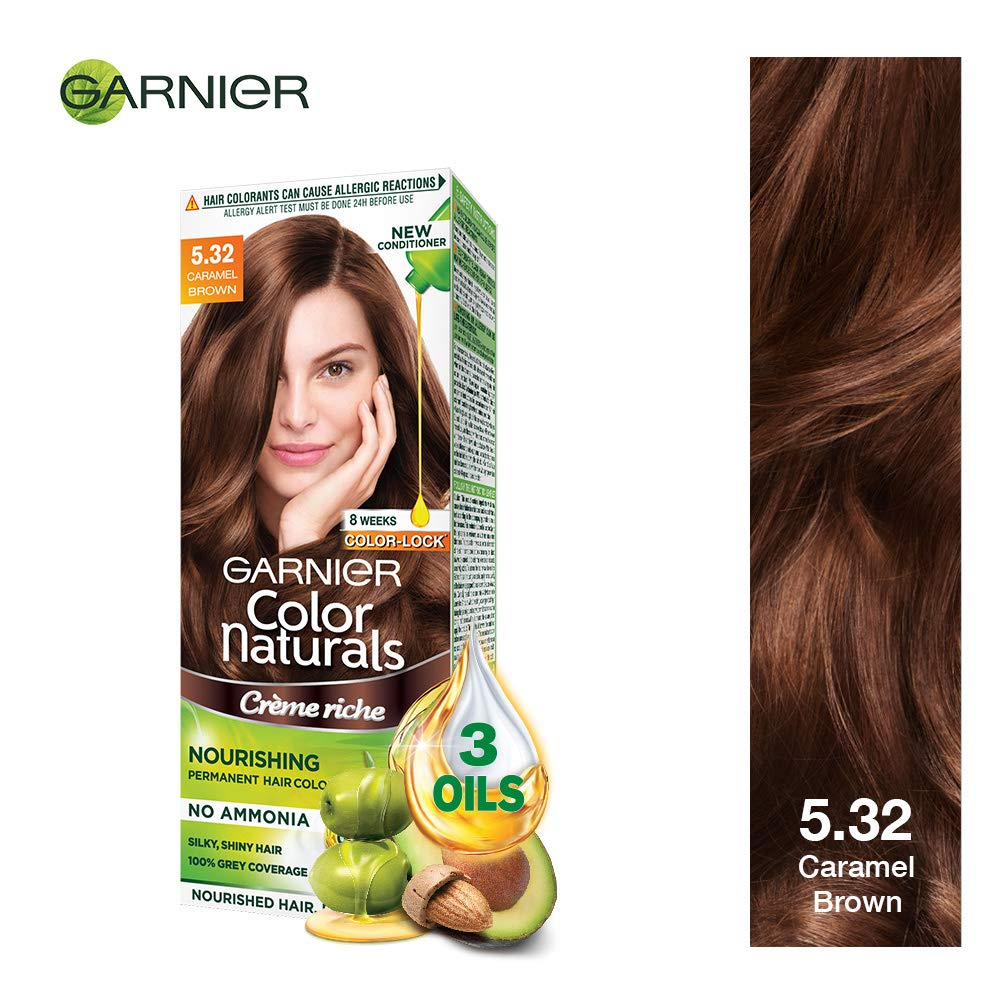 Buy Garnier Color Naturals Shade 532 Caramel Brown Online At Low