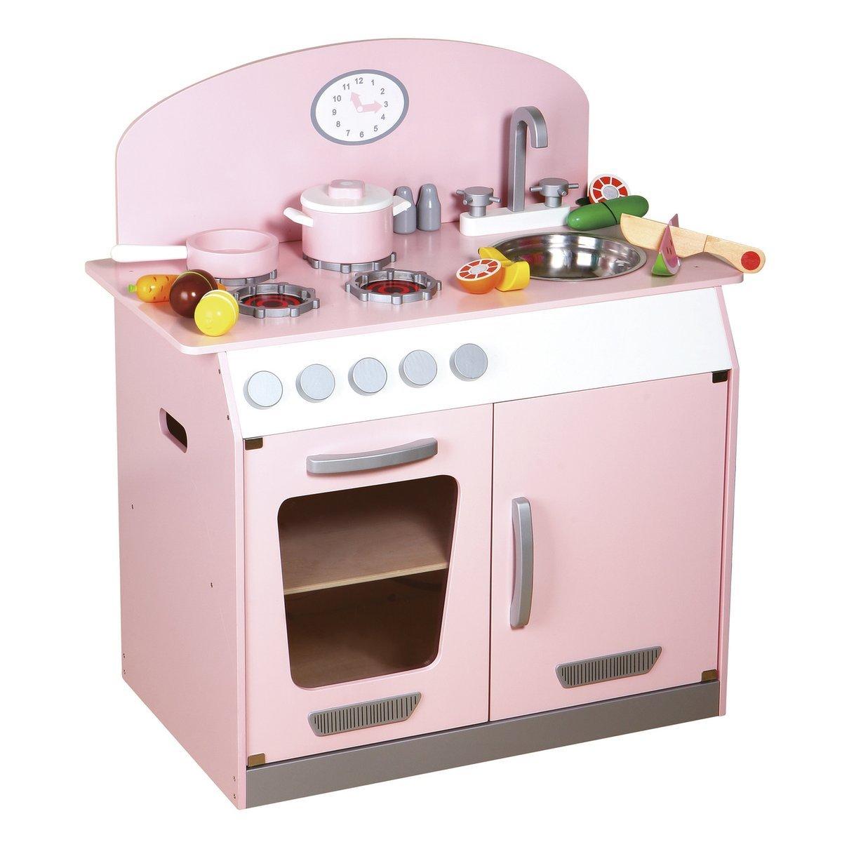 Sun küchencenter spielküche, rosa: amazon.de: spielzeug