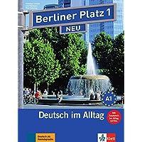 """Berliner Platz 1 NEU: Deutsch im Alltag. Lehr- und Arbeitsbuch mit 2 Audio-CDs zum Arbeitsbuchteil und """"Im Alltag EXTRA"""" (Berliner Platz NEU)"""